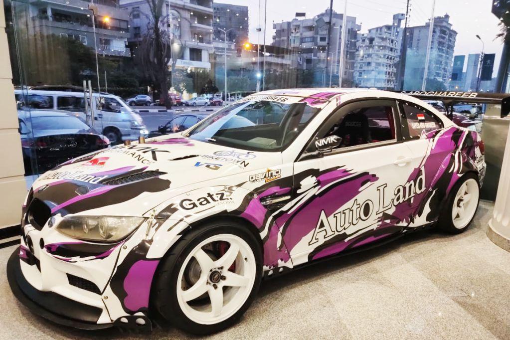 BMW CAR DRIFT