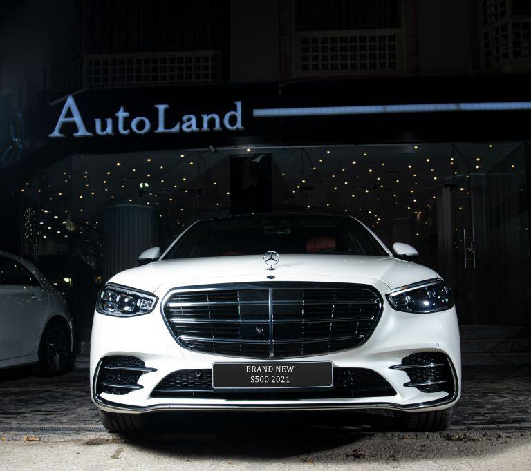 Mercedes S 500 2021 white